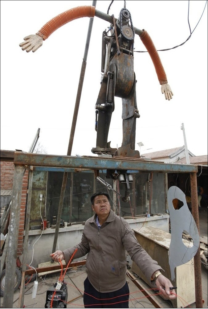 1178 47 роботов китайского изобретателя