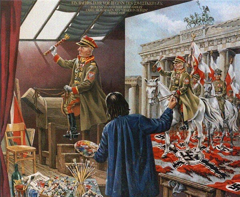 Еще немного и поляки взяли бы Берлин, но Сталин помешал