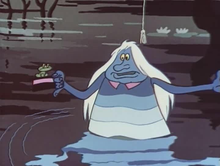 У всех нас иногда бывает такое настроение! Песенка водяного!
