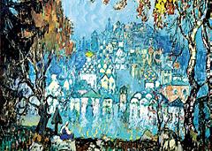 Так представлял себе таинственный город Китеж художник Константин Горбатов