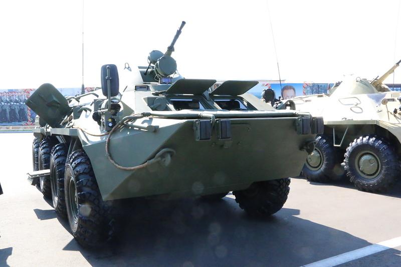 Бронетранспортер БТР-82В для Национальной гвардии России