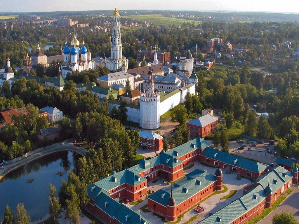 Сергиев Посад. Центр города.