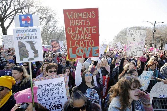 Всемирная антитрамповская женская акция - событие гигантской абсурдности! Мнение