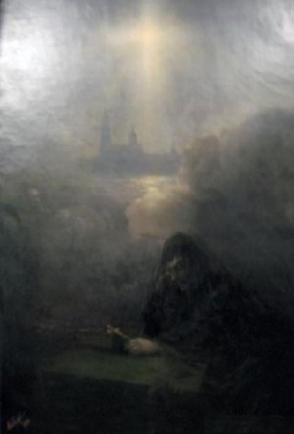 Иван Айвазовский - На смерть Александра III  Васнецов, картины, репин, художники