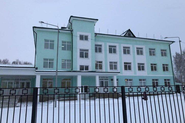Корпус поликлиники Верхнеяркеевской центральной районной больницы открыт в Башкирии Хорошие, добрые, новости, россия, фоторепортаж