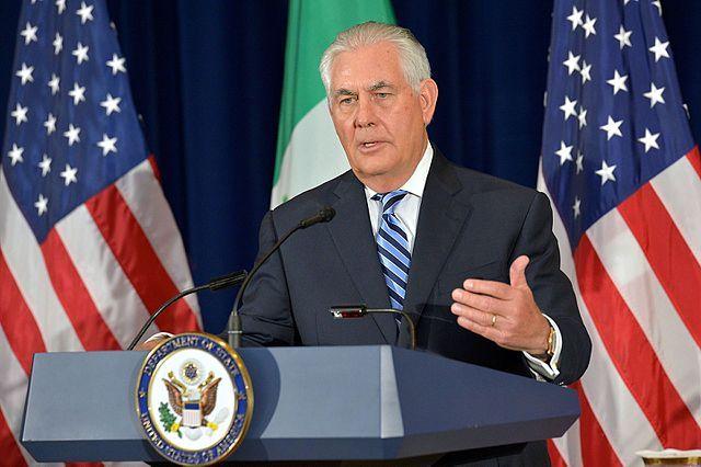 Тиллерсон обвинил Дамаск в применении химоружия в Восточной Гуте