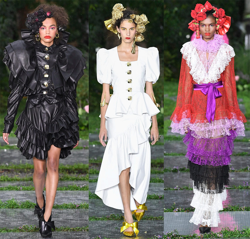 Красивые платья весна-лето 2019 – сказочная коллекция Rodarte