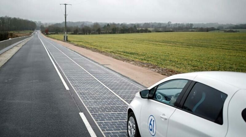 Первая в мире солнечная дорога потерпела фиаско