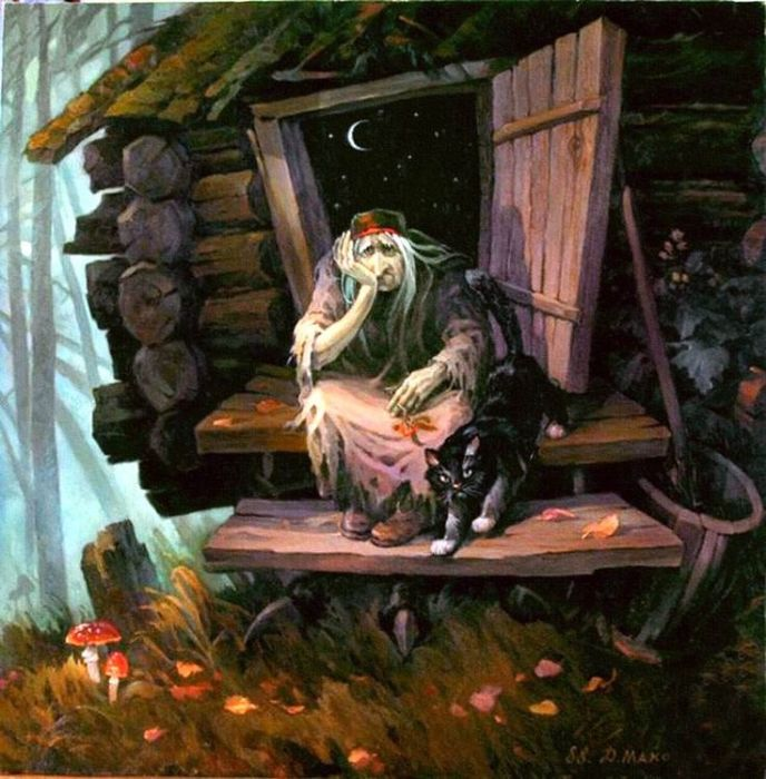 Баба Яга – самый неоднозначный персонаж русских сказок