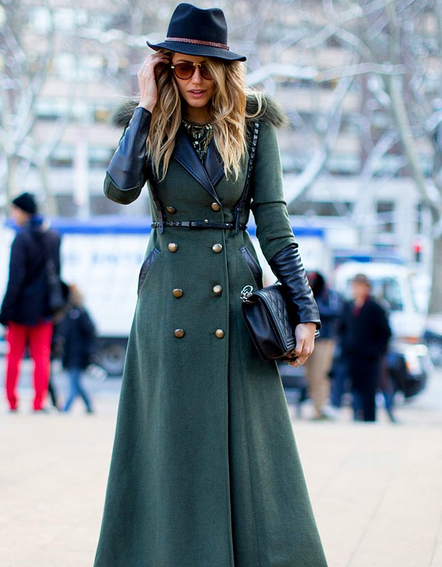 Удлинённое пальто