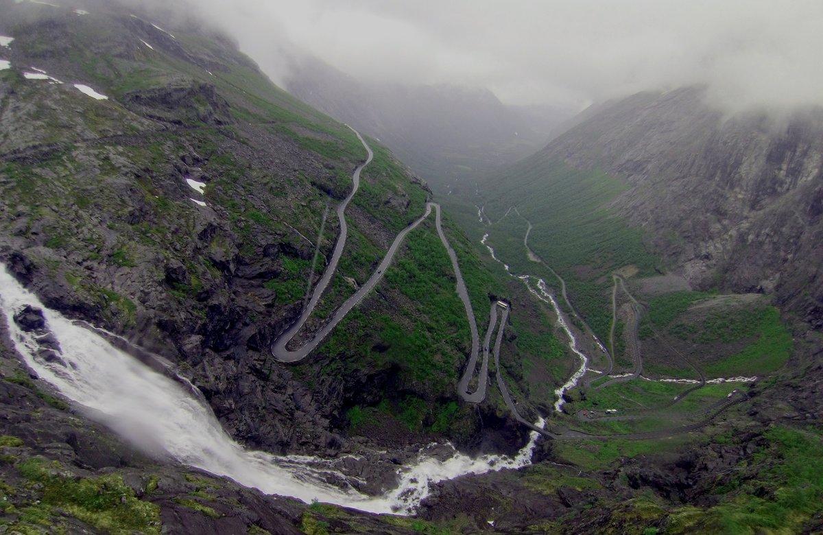 Дорога Троллей, она же Лестница Троллей, Норвегия
