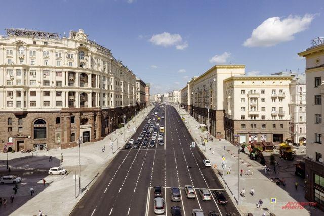 Улица Тверская в Москве будет пешеходной с 31 декабря по 2 января