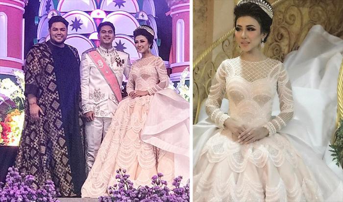 «Принцесса из Джакарты»: свадебное платье, ставшее самым популярным в Инстаграме