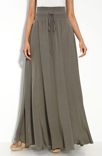 Длинная юбка на осень выкройка