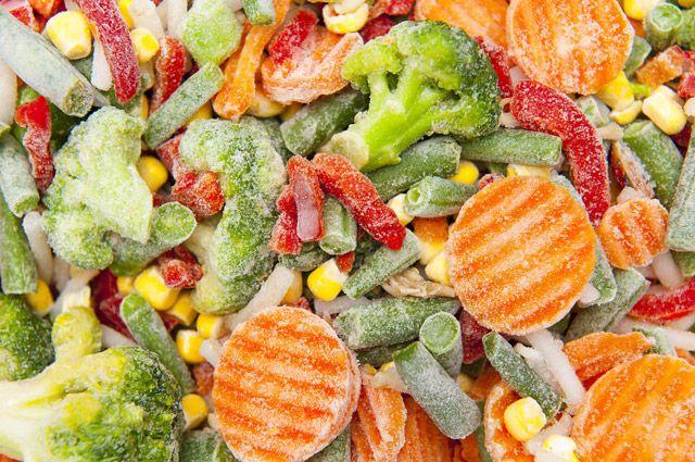 Овощи в шоке. Полезны ли замороженные продукты?