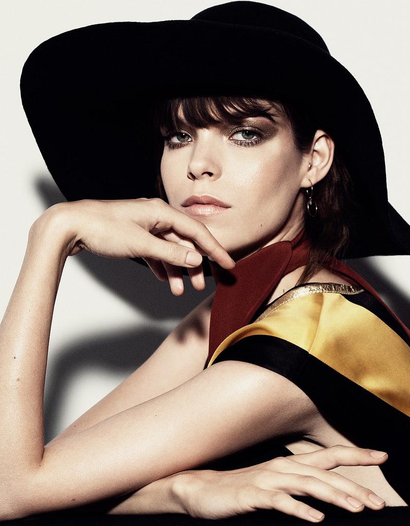 Меган Коллисон — Фотосессия для «Vogue» TH 2014