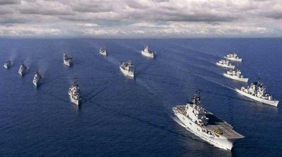 Россия готова уничтожить армаду коалиции в случае атаки
