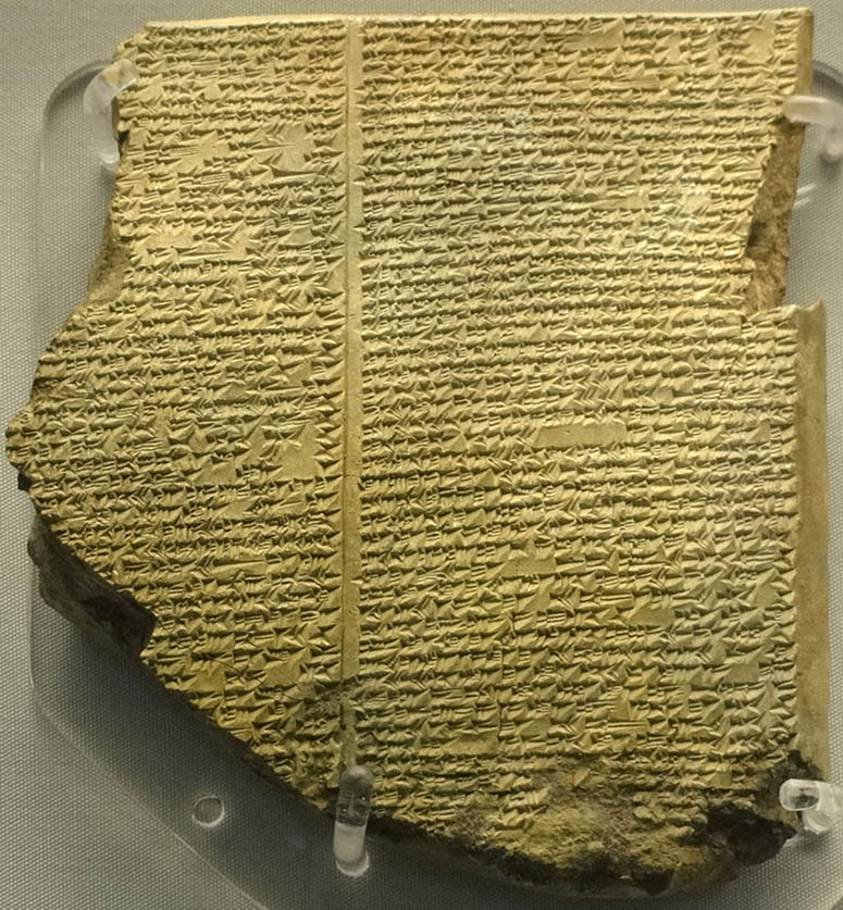 a comparison of the flood stories in the epic of gilgamesh and the bible