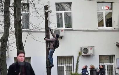 Наместник Десятинного монастыря в Киеве попросил у Трампа защиты от радикалов