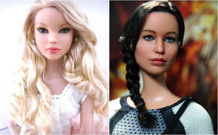 10 самых лучших кукол-копий знаменитостей