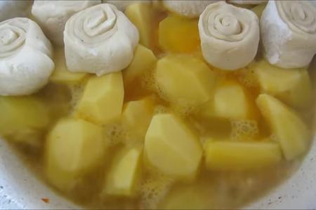 Сразу влюбилась, хотя готовлю первый раз / немецкие штрудли - тесто на кефире: фото шаг 7