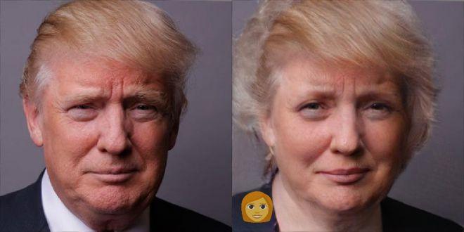 Что будет, если действующие президенты превратятся в женщин?