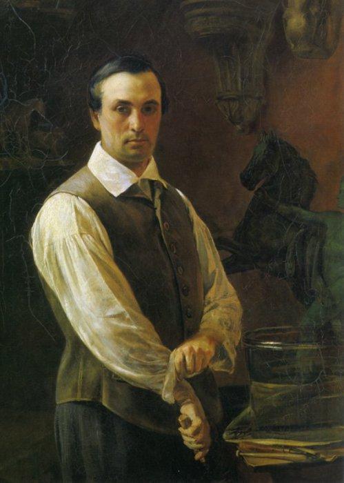 Петр Карлович Клодт.