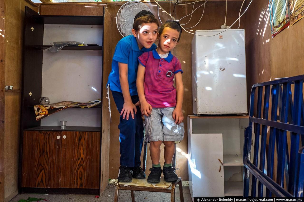 Зачем евреи уходят из дома и живут в шалашах