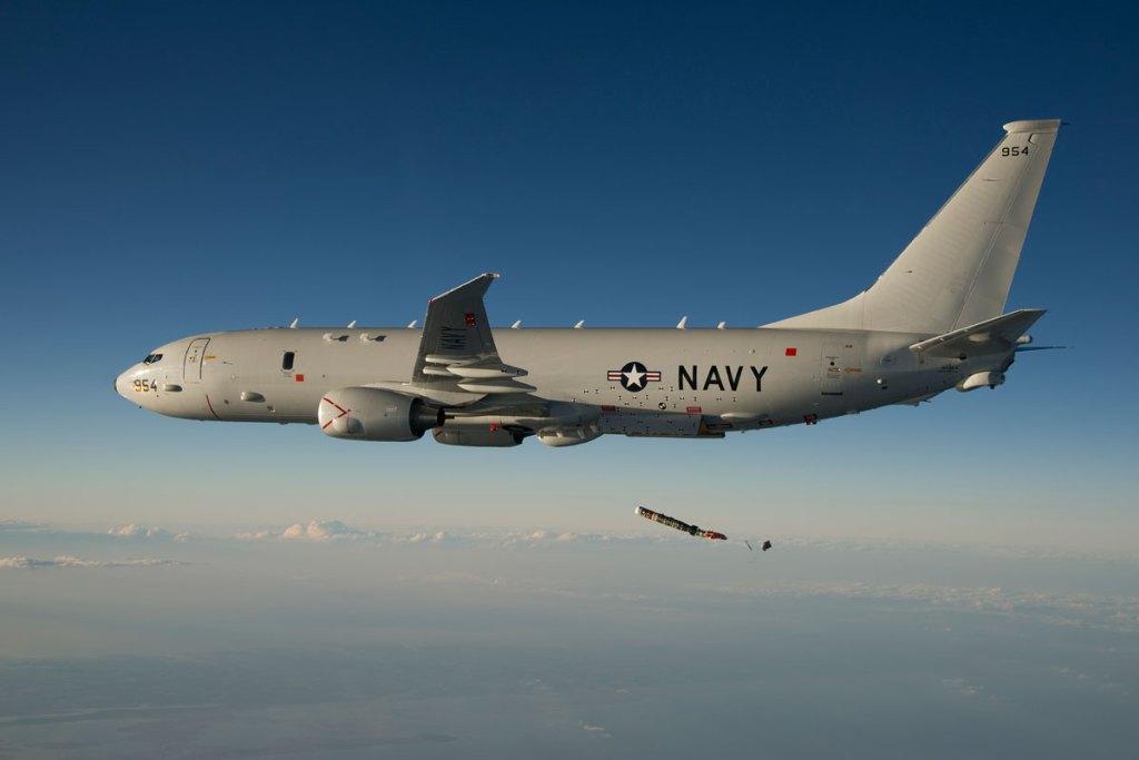 Американский военный самолет шпионил у берегов Крыма