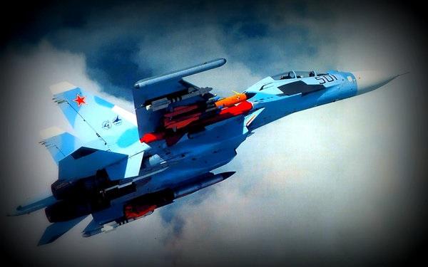 Су-30 ВКС РФ помешали израильской авиации нанести очередной удар по Сирии