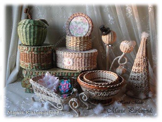 Очень красивые плетенки из газет от Марии Калининград (81) (520x391, 193Kb)