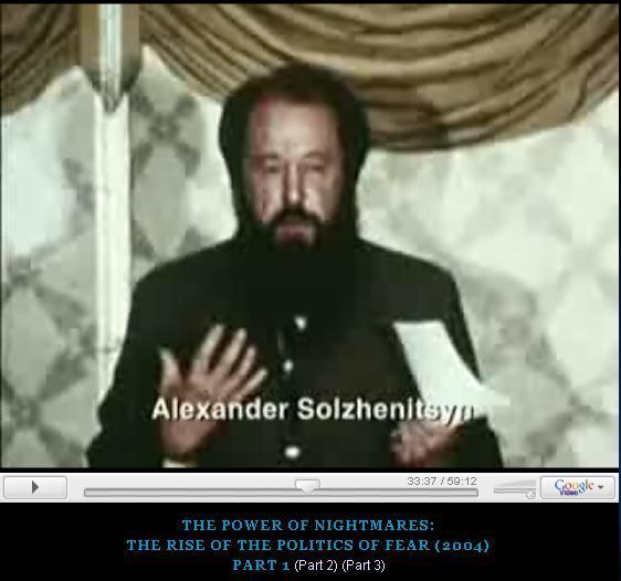 Солженицын призывает США бомбить СССР ( ВИДЕО выступления)
