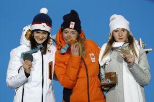 Россиянке Наталье Ворониной вручили бронзовую медаль ОИ-2018