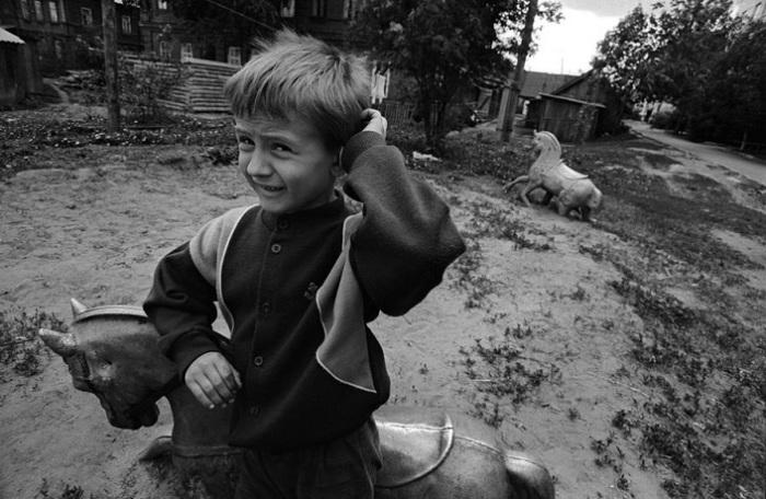 «Казань и казанцы в 90-е»: 25 черно-белых снимков фотографа Евгения Канаев
