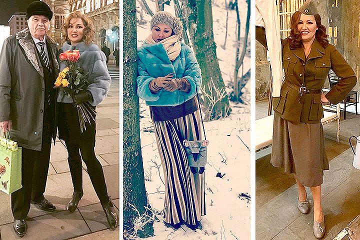 Анна Нетребко похвасталась стройной фигурой
