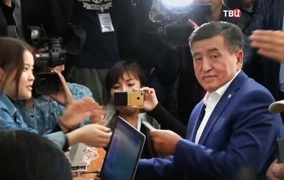 В Киргизии выбрали нового президента