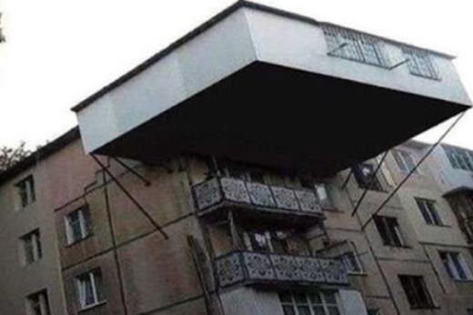 Обнаглевшие соседи, которые расширили балкон вызвали протест в сети…