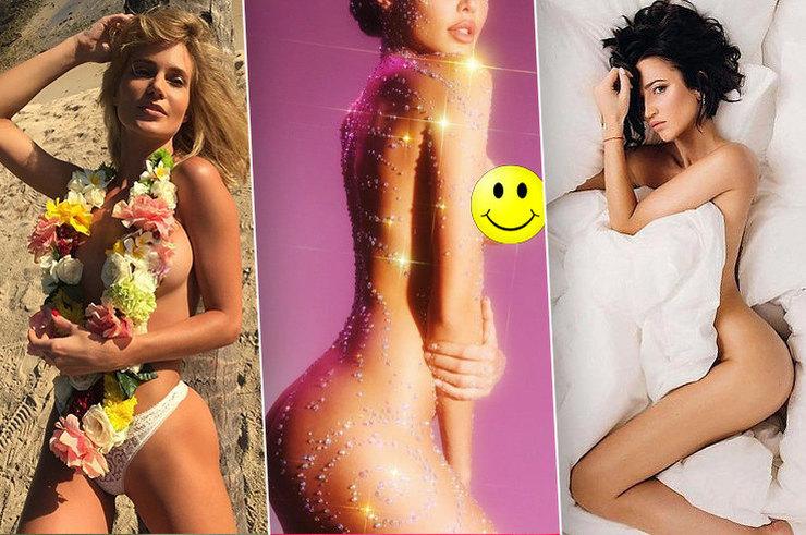 Красота или позор: «голые» фото российских звезд, которые нас удивили в 2017-м
