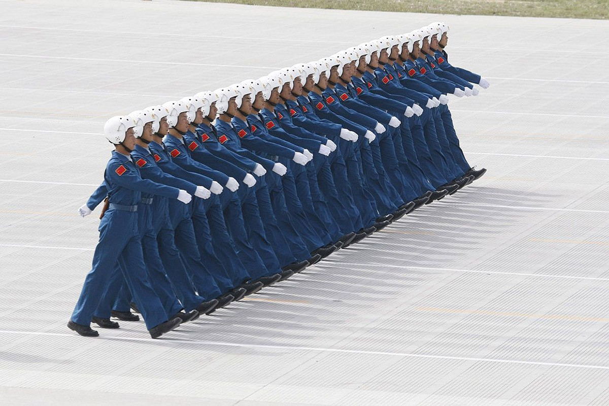 Китайское искусство толпы, которое завораживает