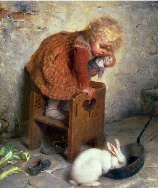 Маленькие детки и их милые проделки итальянского художника Гаэтано Кьеричи