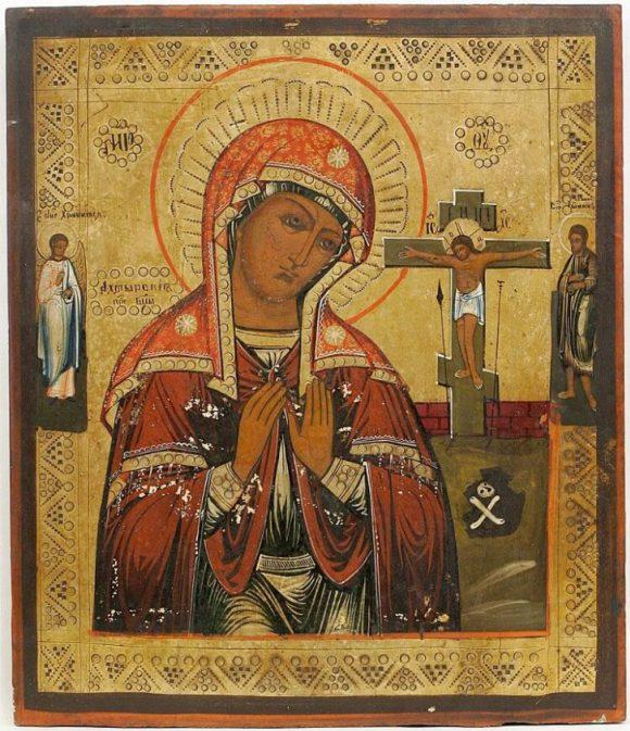 Икона Божией матери, которая…