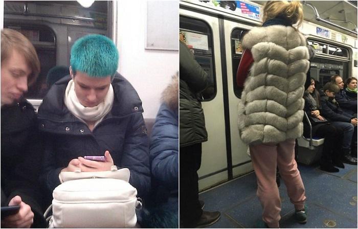 Люди в московском метро: 20 …