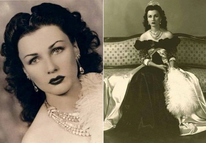 Королева Ирана Фавзия Фуад, 1945 | Фото: liveinternet.ru