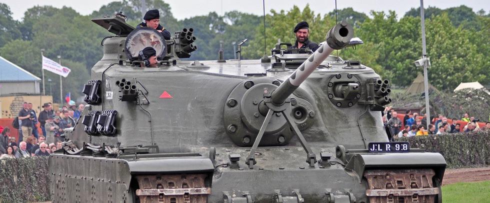 Сверхтяжёлые танки: стальные великаны