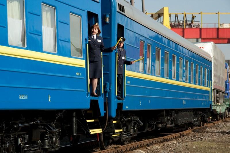 """Новый украинский поезд """"высокого класса""""и уже сломался"""
