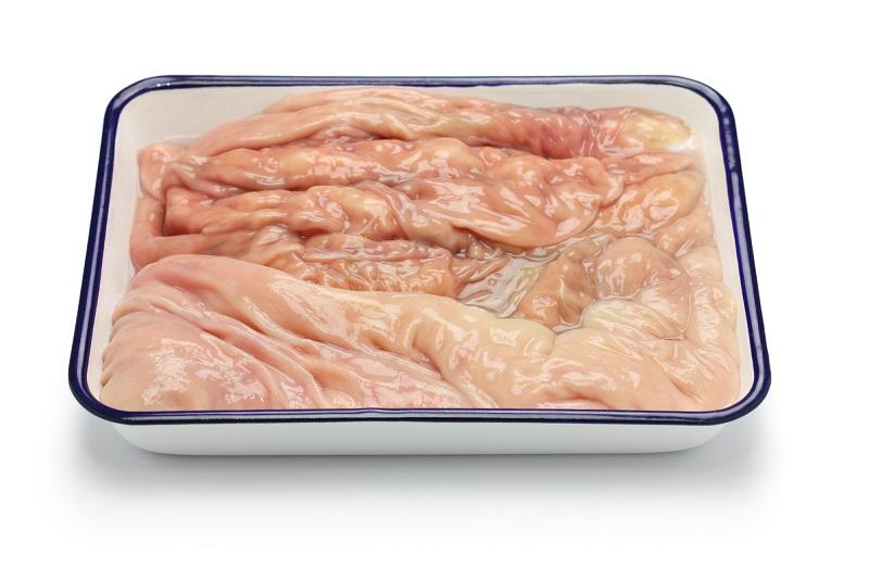 фаршированный желудок в духовке