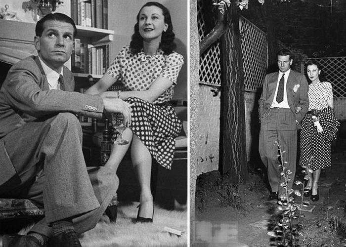 Вивьен Ли и Лоуренс Оливье: 20 лет любви, начавшейся с киноромана