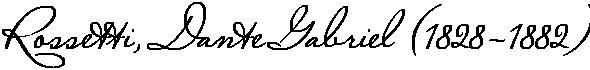 Английский поэт и художник-прерафаэлит Данте Габриэль Россетти. Женский образ (1850-1880)