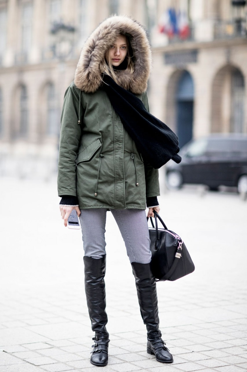 Одеться зимой тепло и выглядеть при этом стильно
