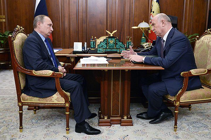 Путин отправил в отставку губернатора Самарской области Николая Меркушкина